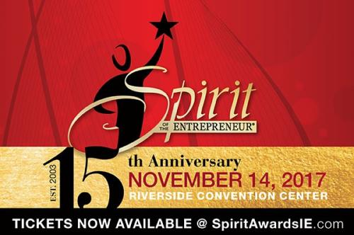 2017 Spirit of the Entrepreneur Award Recipients Announced! Image.